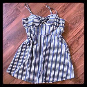 Denim Inspired Dress